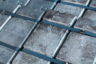 溶解亜鉛めっき加工工程